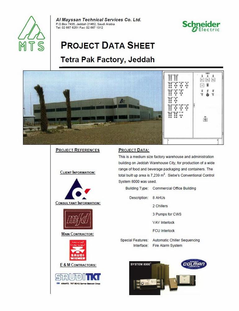 Al Mayssan Technical Services Company Limited Tetra Pak